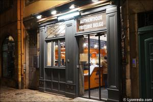 1 devanture facade restaurant bintje zoet friterie belge lyon Bintje & Zoet