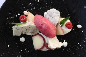 00005 dessert ete Bistrot des Maquignons terrasse glace cuisine  Bistrot des Maquignons