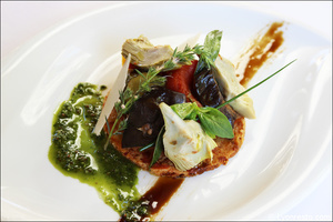 00043 entree legumes plat restaurant bistrot des maquignons bistronomie lyon Bistrot des Maquignons