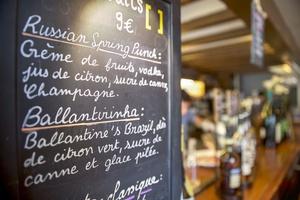 007 carte cocktails bistrot des maquignons Lyon Restaurant Bistrot des Maquignons