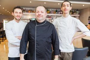 04 chef la patrie 03 mezzanine 0 feuilete la patrie brasserie restaurant Lyon Brasserie La Patrie