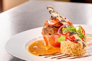 05 tomate farcie 03 mezzanine 0 feuilete la patrie brasserie restaurant Lyon Brasserie La Patrie