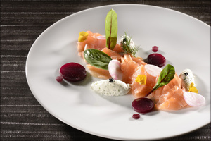 02 entree plat restaurant lyon cite internationale BRG Bistrot Rive Gauche