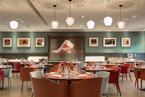 043 decor BRG restaurant crowne plaza cite internationale lyonresto BRG Bistrot Rive Gauche