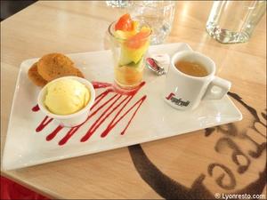 6 dessert cafe gourmand restaurant burger and wine martiniere lyon Burger & Wine Martinière