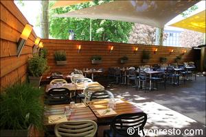 1 terrasse voile caffe milano originale restaurant pizza italien lyon Caffe Milano Originale