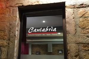 3 devanture facade restaurant bintje zoet friterie belge lyon Cantabria