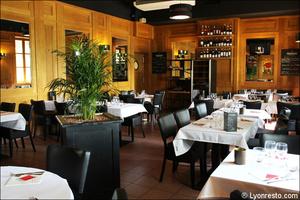 3 salle restauration restaurant lyon carre saone Carré Saône