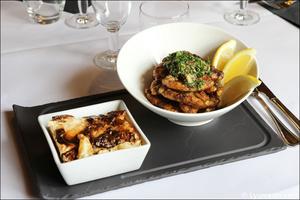 4 cuisses grenouilles plat restaurant lyon carre saone Carré Saône