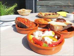 2 tapas plat restaurant casa ibercai cuisine espagnole portuguaise iberique lyon Casa Iberica