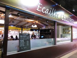 04 Cellerier restaurant Halles Paul Bocuse Lyonresto Cellerier Halles de Lyon
