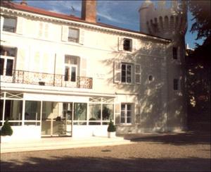 Facade principale Château de Montchat