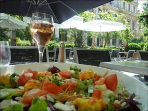 1 CHRI S Salade Terrasse  CHRI'S