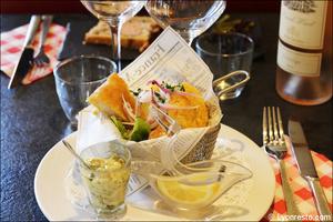 003 poisson plat comptoir 113 restaurant lyon Comptoir 113