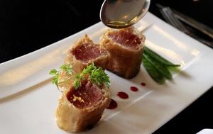 003 Diplomatico croustillant thon plat poisson restaurant Lyon Diplomatico