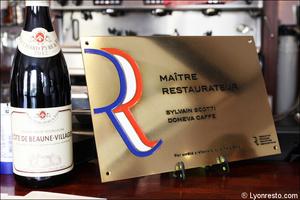001 label maitre restaurateur domeva caffe restaurant italien lyon valmy Domeva Caffe