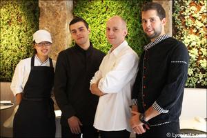 7 portrait equipe restaurant eskis lyon cuisine moleculaire Eskis