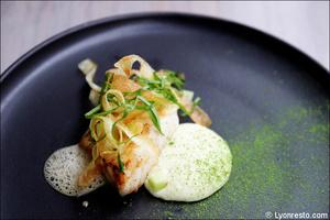 8 poisson plat restaurant eskis lyon cuisine moleculaire Eskis