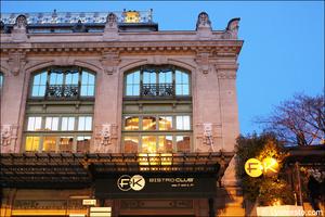 2 brotteaux facade restaurant bar dansant festif f and k bistroclub lyon selection F&K Bistroclub