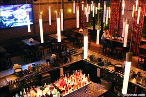 4 bar vue plongee salle restaurant bar dansant festif f and k bistroclub lyon F&K Bistroclub