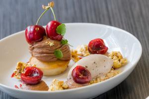 075 dessert glace maison Flair restaurant bistronomie Lyon Flair