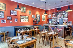 12 1 1 Franklin s Steakhouse Lyon Restaurant Salle Franklin's Steakhouse