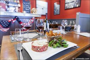 13 1 Franklin s Steakhouse Lyon Restaurant Salle Franklin's Steakhouse