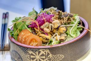 007 Fubuki restaurant japonais Lyon salade Fubuki