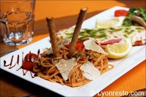 4 escalope milanaise restaurant giovany italien lyon Giovany's Ristorante