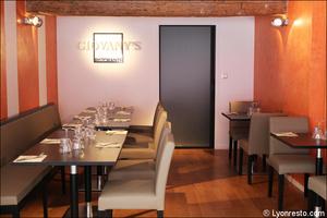 7 petite salle restaurant giovany italien lyon Giovany's Ristorante