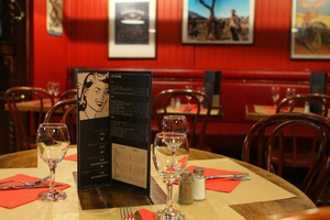 005 Gnome et Rhone restaurant bar cafe Lyon saxe gambetta carte Gnôme et Rhône
