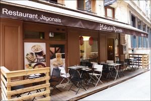 01 terrasse ensemble hakata ramen restaurant japonais lyon Hakata Ramen