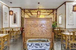 004 hua yuan xuan restaurant traditionnel chinois lyon fontaine salle HUA YUAN XUAN