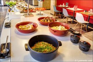 05 Ibis Kitchen Part Dieu Restaurant Lyon buffet Ibis Kitchen Part-Dieu