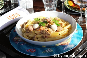 009 penne sicilienne selection restaurant lyon iceo ICEO