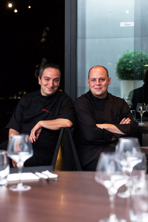 003 KOS I restaurant vaise semi gastronomique chefs KOS-I