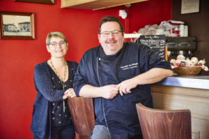01 L Auberge du village sylvain duittoz chef restaurant Dardilly lyonresto l'Auberge du Village