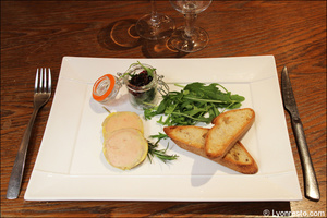 2 entree foie gras restaurant l authentique steakhouse lyon L'Authentique Steakhouse