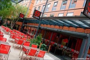 1 terrasse restaurant l endroit lyon cite internationale L'Endroit - Cité Internationale
