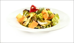 2 salade plat restaurant l endroit lyon cite internationale L'Endroit - Cité Internationale
