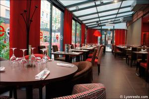 9 salle ensemble vue restaurant l endroit lyon cite internationale L'Endroit - Cité Internationale