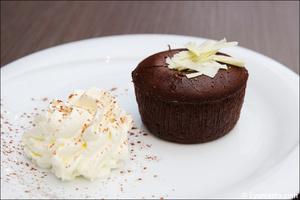 95 moelleux chocolat dessert restaurant l endroit lyon cite internationale L'Endroit - Cité Internationale