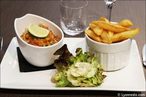 991 tartare saumon restaurant l endroit lyon cite internationale L'Endroit - Cité Internationale
