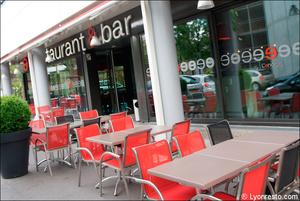 1 terrasse facade restaurant l endroit lyon vaise L'endroit  Lyon-Vaise