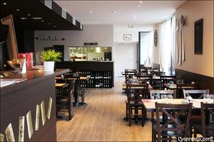 001 L Esprit Bistrot Garibaldi restaurant Lyon salle L'Esprit Bistrot Garibaldi