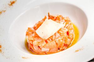 003 Esprit Bistrot Garibaldi Lyon restaurant plat tartare saumon L'Esprit Bistrot Garibaldi