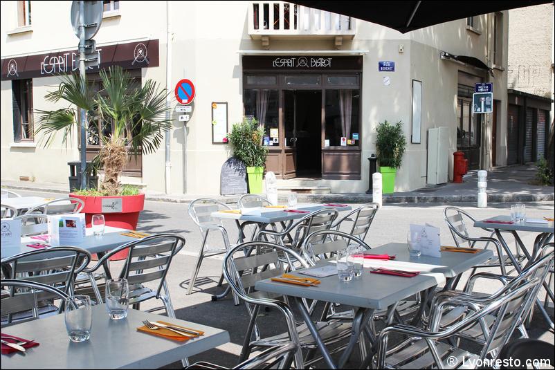 Le restaurant L'Esprit Bistrot Monplaisir à 69008 Lyon recommandé