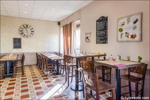 003 L Esprit Bistrot Monplaisir restaurant Lyon salle L'Esprit Bistrot Monplaisir