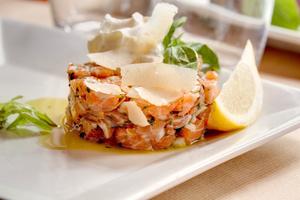 006 Esprit Bistrot Monplaisir Lyon restaurant tartare saumon L'Esprit Bistrot Monplaisir