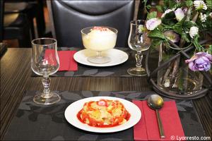 007 dessert restaurant essentiel lyon L'Essentiel